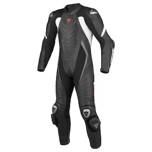 Dainese Aero EVO C2 Race Suit Black/Black/White / 48 [Blemished - Very Good]