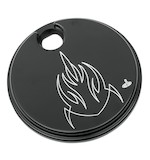 Carl Brouhard Lefty Fuel Door For Harley Touring 1992-2007