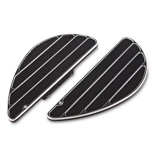 Arlen Ness Ring Leader Fusion Series Passenger Floorboards For Harley 1986-2017