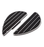Arlen Ness Ring Leader Fusion Series Passenger Floorboards For Harley 1986-2018