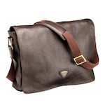 Triumph Leather Messenger Bag