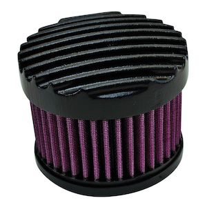 TC Bros Finned Air Cleaner For Harley S&S Super E / G