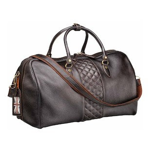 Triumph Leather Holdall