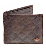 Triumph Quilted Leather Wallet