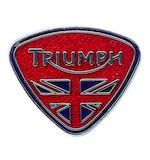 Triumph Union Triangle Pin Badge