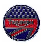Triumph Sports Pin Badge