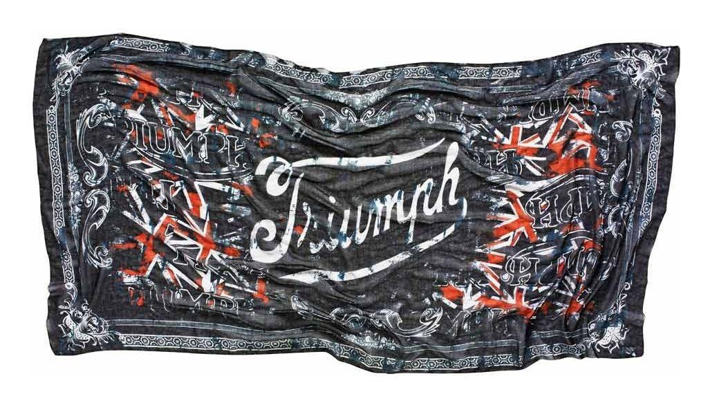 triumph union scarf revzilla