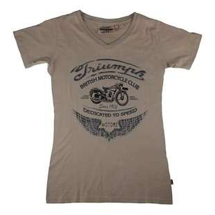 Triumph Motorcycle Club Women's T-Shirt (Sz 3XL Only)