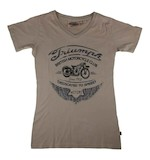 Triumph Motorcycle Club Women's T-Shirt - (Size 2XL Only)