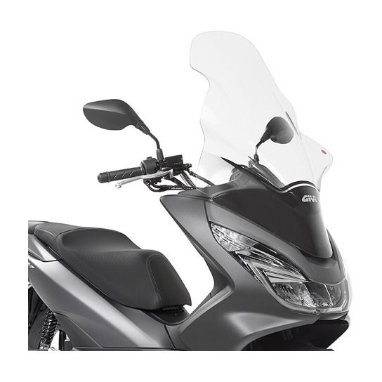 givi d1130st windscreen honda pcx150 2014 2018 10 off revzilla. Black Bedroom Furniture Sets. Home Design Ideas