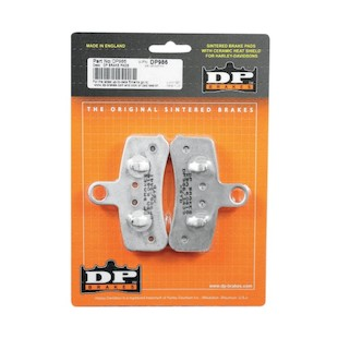 DP Brakes Sintered Front Brake Pads For Harley Softail / Dyna 2008-2017
