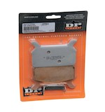 DP Brakes Sintered Rear Brake Pads For Harley Touring 1986-1999