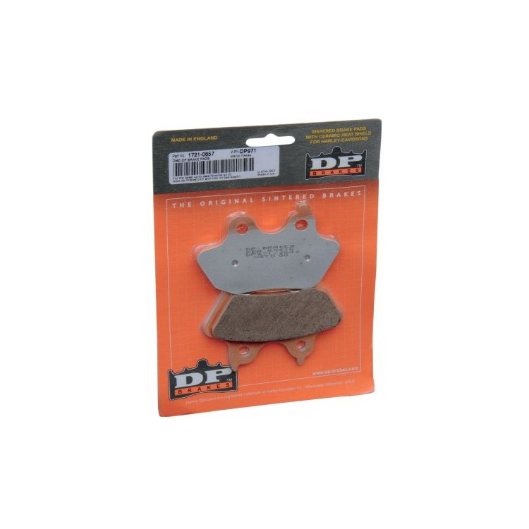 DP Brakes Sintered Rear Brake Pads For Harley Softail 2006-2007