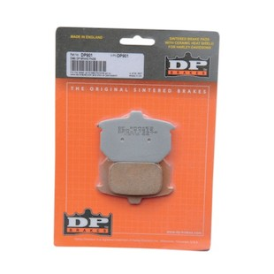 DP Brakes Sintered Rear Brake Pads For Harley Big Twin / Sportster 1982-1987