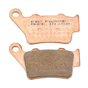 EBC R Series Sintered Rear Brake Pads KTM / Husqvarna / Husaberg / BMW