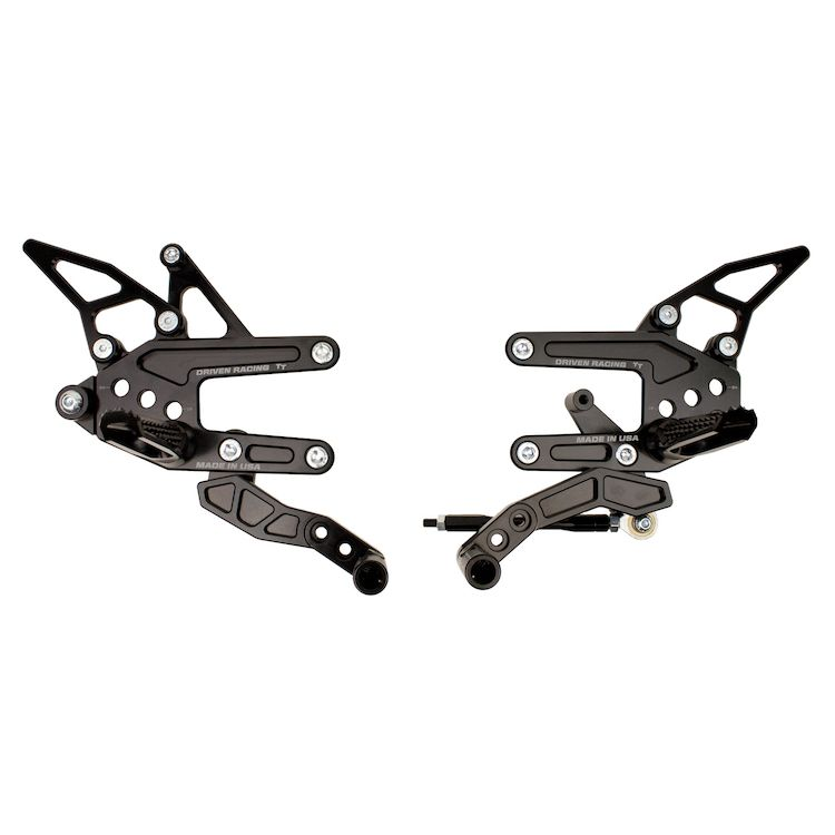 Driven Racing TT Rearsets Aprilia RSV4 APRC / Factory