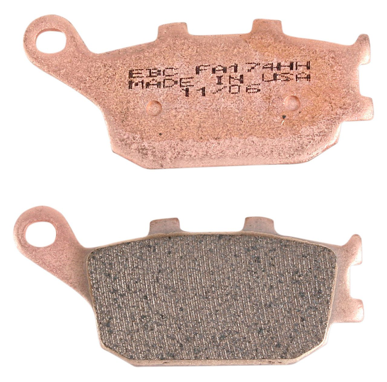 EBC Organic Rear Brake Pads For Honda 2012 CBR250R ABS