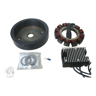 Spyke Heavy Duty 32 Amp Charging System For Harley Big Twin 1970-1999