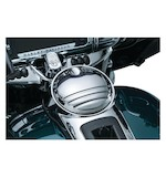 Kuryakyn Tri-Line Fuel Door For Harley Touring 2008-2018