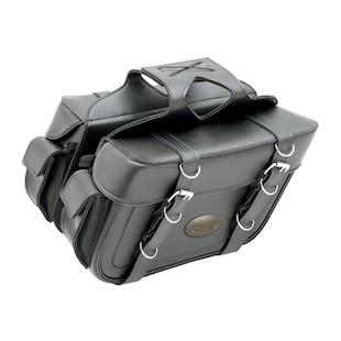 All American Rider XL Box Style Slant Cargo Pocket Saddlebags