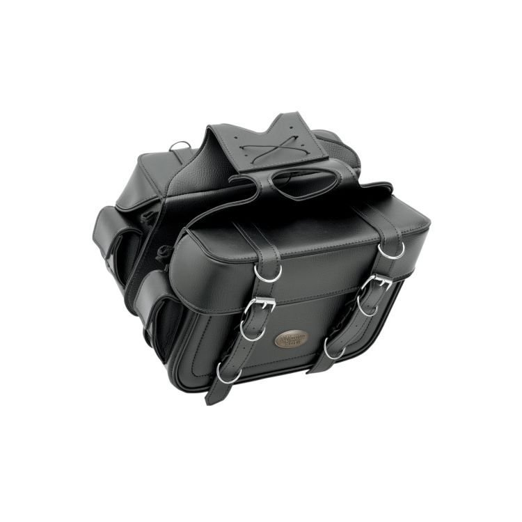 All American Rider Box Style Slant Cargo Pocket Saddlebags