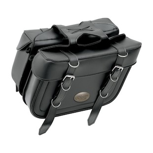 All American Rider XL Box Style Slant Saddlebags