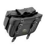 All American Rider XL Box Style Slant Saddlebags