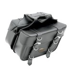 All American Rider Box Style Slant Saddlebags