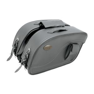 All American Rider XXXL Futura Detachable Slant Saddlebags