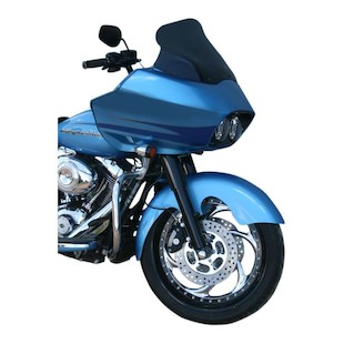 Klock Werks Aero Tire Hugger Series Front Fender For Harley