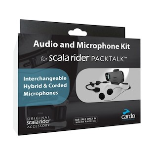 Cardo Scala Rider PackTalk / SmartPack Audio Kit