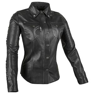 Speed And Strength Black Heart Moto Womens Shirt
