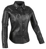 Speed and Strength Women's Black Heart Moto Shirt