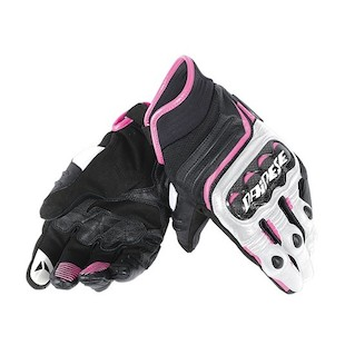 Dainese Women's Carbon D1 Short Motorcycle Gloves