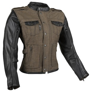 Speed and Strength Women's Six Speed Sisters Motorcycle Jacket