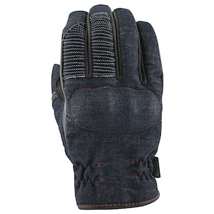 Speed and Strength Gridlock Denim Motorcycle Gloves