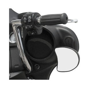 Pingel Fairing Mirror Drop Brackets For Harley Touring