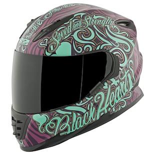 Speed and Strength SS1310 Black Heart Helmet
