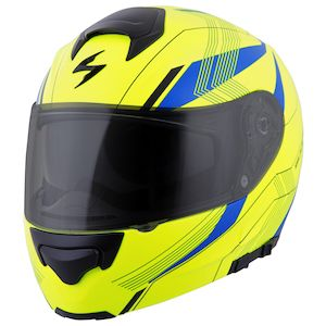 Scorpion EXO-GT3000 Sync Hi-Viz Helmet (XS and SM)