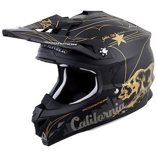 Scorpion VX-35 Golden State Dirt Helmet