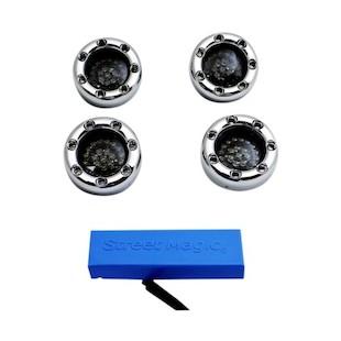 Custom Dynamics Bullet Ringz LED Turn Signal Kit For Harley Sportster 2004-2013