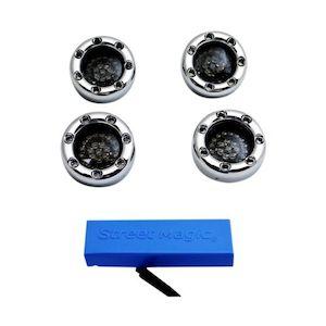 Custom Dynamics Bullet Ringz LED Turn Signal Kit For Harley 1996-2013