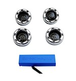 Custom Dynamics Bullet Ringz LED Turn Signal Kit For Harley 1996-2013