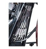Arlen Ness Deep Cut Frame Grill For Harley Touring 2009-2013 Black [Previously Installed]