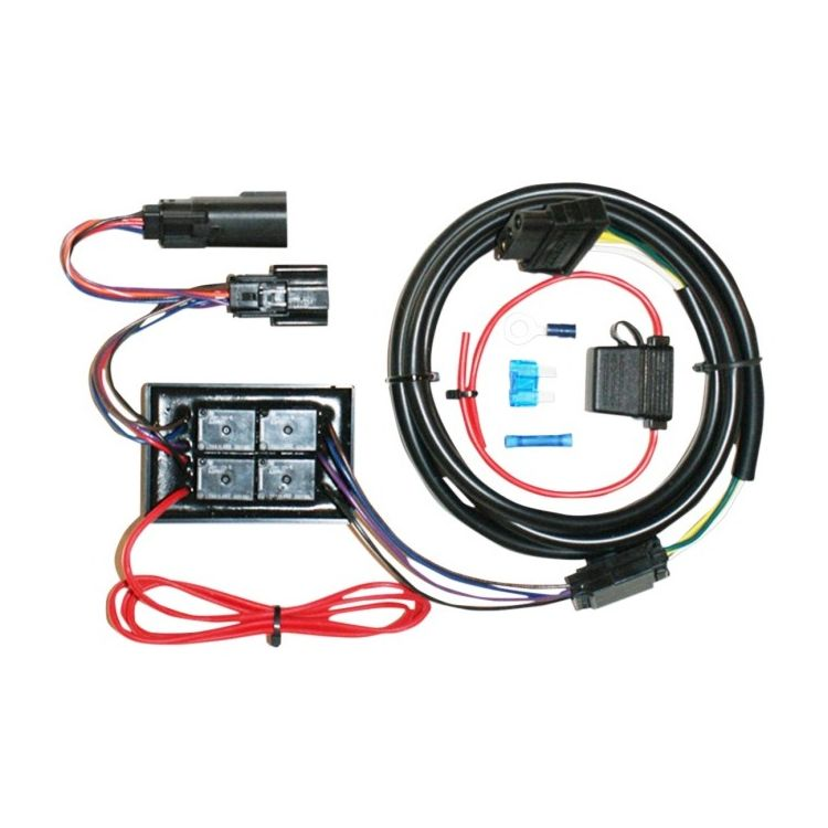 Khrome Werks Plug  U0026 Play Trailer Wiring Harness Kit For Harley Touring 2014