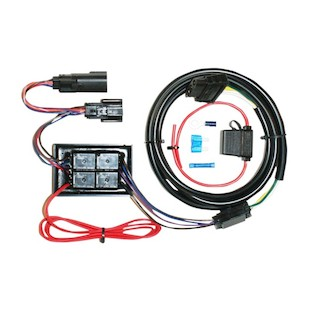 Khrome Werks Plug & Play Trailer Wiring Harness Kit For Harley Touring 2014-2015