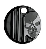 Covingtons Machine Head Fuel Door Cover For Harley Touring