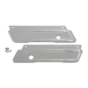 Performance Machine Smooth Saddlebag Latch Covers For Harley Touring