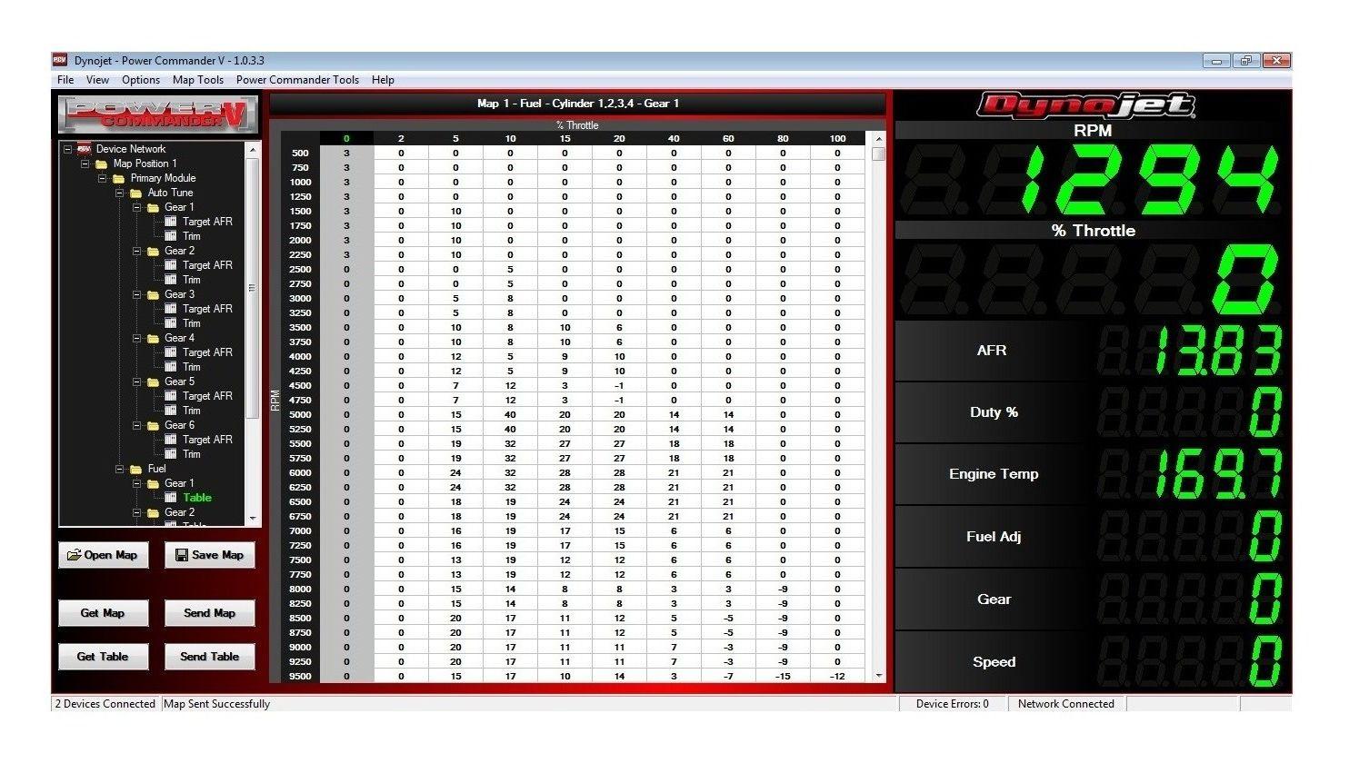 Dynojet Power Commander V Suzuki Gsxr 750 2006 2010 15 6000 06 Wire Harness Color Code Off Revzilla