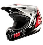 Fox Racing V1 Vandal Helmet Red / SM [Demo - Good]